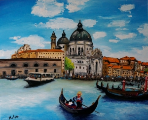 And Venice gondolier