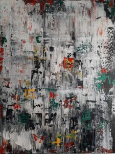 """""""ICE 123"""" (REPLICA OF ICE 2 BY GERHARD RICHTER)"""