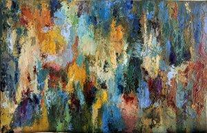 Alya. Cuadros abstractos al óleo