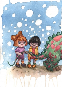 Las mellizas y el dragón