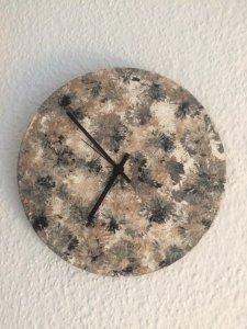 30 cm Cuadro + reloj