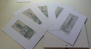 "Lithographs folder ""FAROS"""