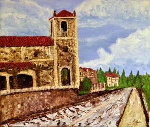 Ermita de villasomera cara sur.