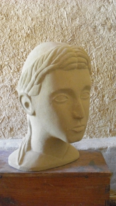 Escultura Busto Mujer
