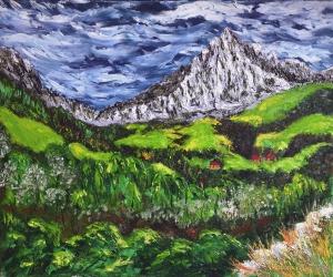 Pico San Vicente from Covalanas