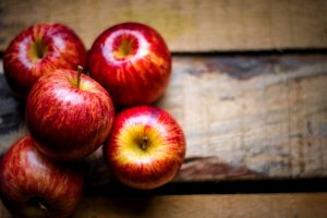 The sweet harvest from the farm: APPLES