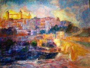TOLEDO AND BRIDGE OF ALCANTARA