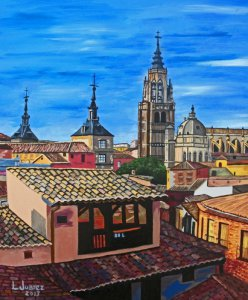 TOLEDO CATHEDRAL AND ROOFS
