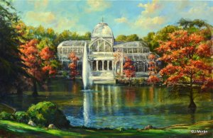 Crystal Palace of the Retiro.