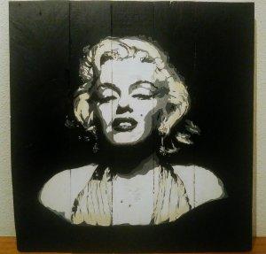 Retrato Marilyn Monroe