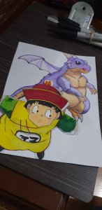 Dragon Ball Z (Gohan & Gran Dragon)