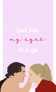 Digital illustration of '10 things I hate about you '/ Digital illustration of '10 things I hate about you'