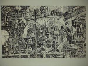 Victor Frankenstein's Laboratory