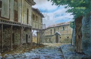 Street of Calatañazor (Soria)