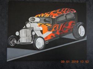Fuego en la calle