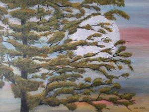 """Tree of the moon"", 80x60cm, 280 euros"
