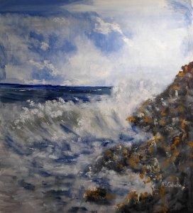 Between waves and rocks