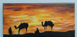 Caminando en el Sahara