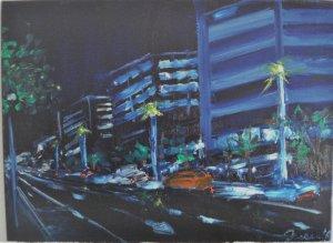 Avenida Diagonal night 61x46 OIL (1024x751) .jpg