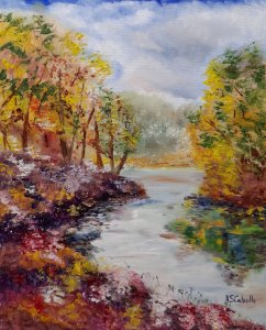 Spring air on the river