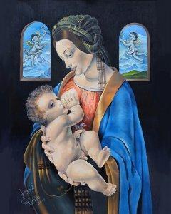Madonna Litta with À ngeles by Jose Prilo h.jpg