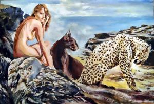 guepardo y escocesa