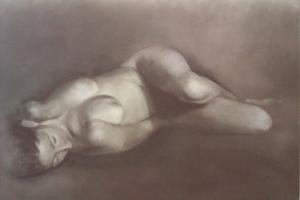 ELLA Pastel y lápiz sobre papel 60x80. 2013..jpg