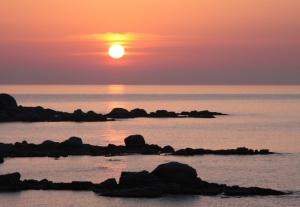 Salid de sol en Costa Brava