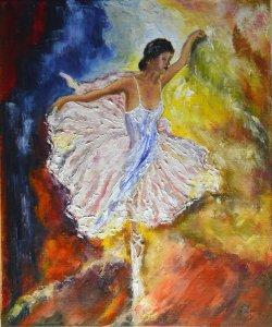 Impressionist dancer