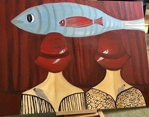 """""""Admirando los peces"""""""