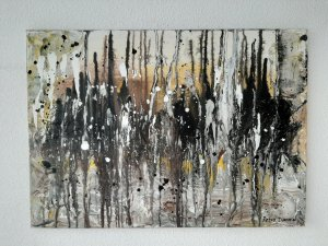 """"""" Los corales blandos """", 70x50 cm, 90 euros"""