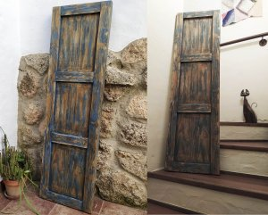 imitación puerta antigua
