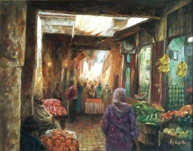 Mercado de la medina de Fez