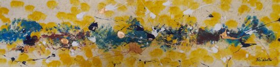 Amarillos abstractos