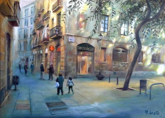 Carders Street. Barcelona