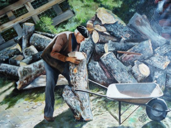 Old woodcutter