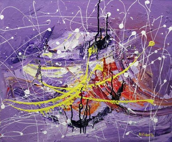 Between the violet