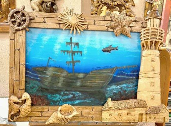 Barco hundido - Sunken ship