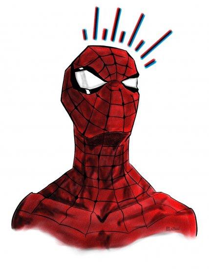 Spiderman sentido arácnido