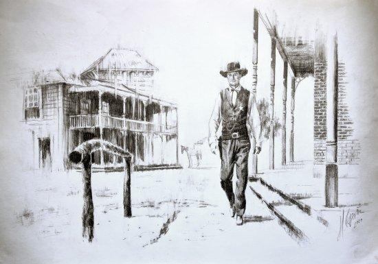 Gary Cooper - Alone in Peril