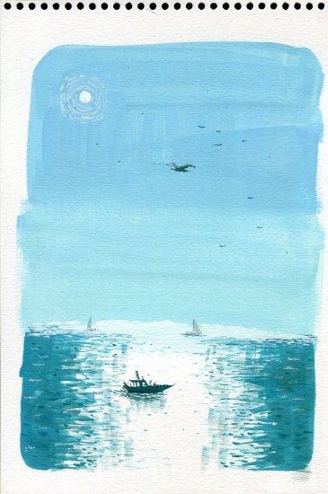 Barcos al sol