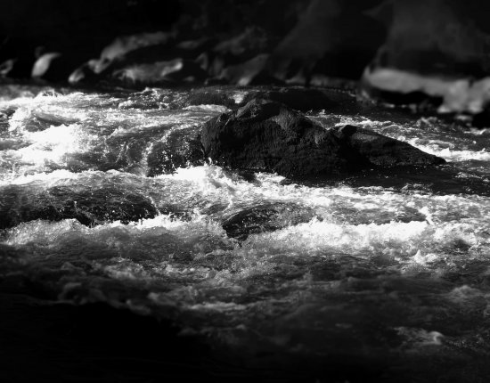 "Title: ""Deschutes river rock"""