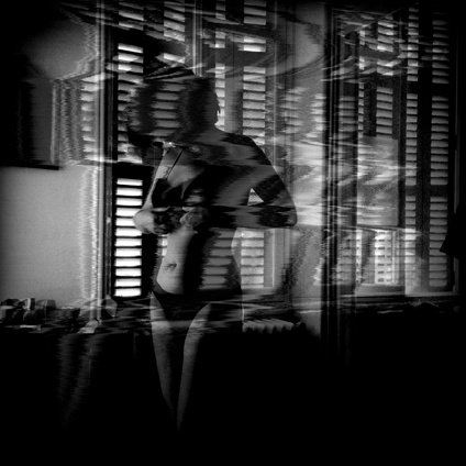 Eric Chauvet - Femme Nue 5 - Tribute to Kertész