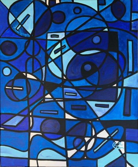 04. Marina, 73x60cm, Acrylic on canvas