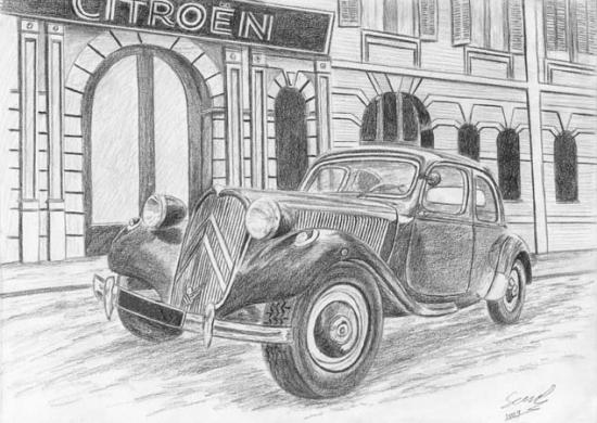 Citroen 11 1950