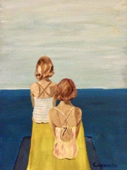 Las vigilantes de la playa