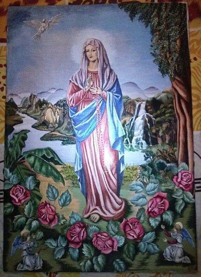 Saint Mary Hand Made Embroidery
