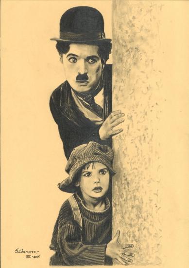 CHAPLIN AND CHILD