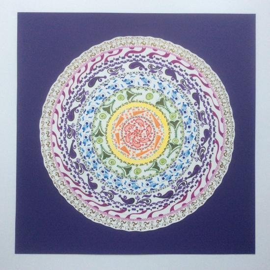 Chakra Mandala - Amy