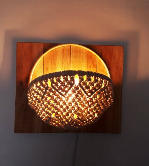 """Wall light """"La cestilla"""""""